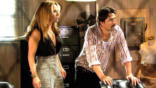 """La actriz mexicana Kate del Castillo interpreta a una narcotraficante en la producción """"Dueños del Paraíso""""."""