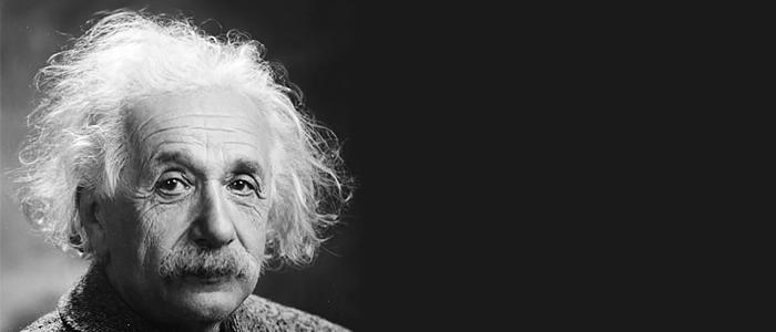 El físico teórico Albert Einstein en el año de 1947.