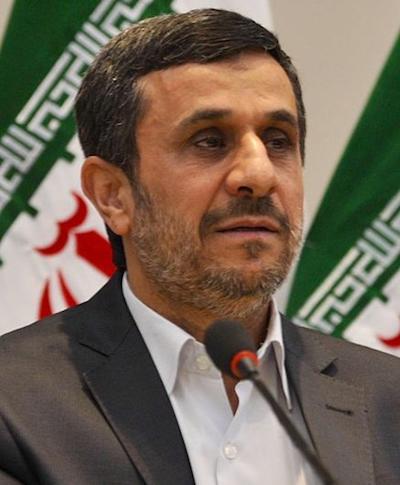 El ex-presidente iraní Mahmoud Ahmadinejad.