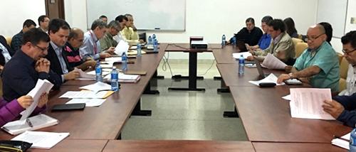 Las delegaciones de paz del Gobierno Nacional y de las FARC en La Habana, Cuba.