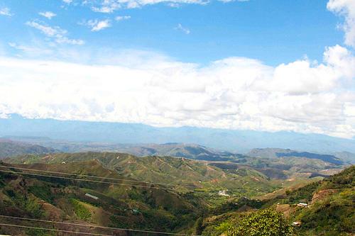 Valle del Patía en el departamento del Cauca.