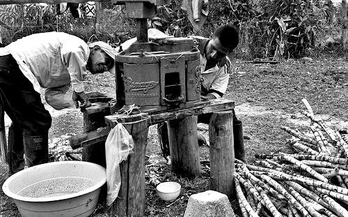 Indígenas Nasa en el departamento del Cauca.