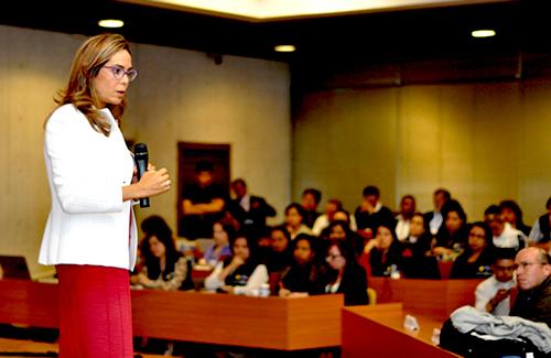 La Ministra de Educación, Gina Parody.