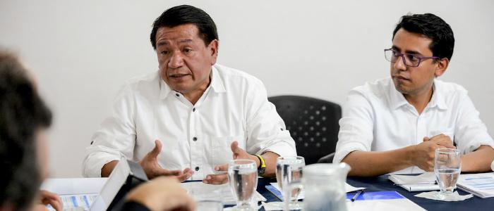 El abogado Jorge Armando Otálora renunció a su cargo de Defensor del Pueblo.