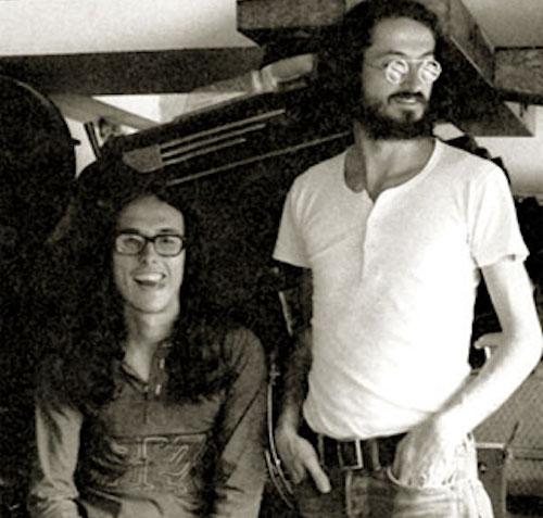 Luis Ospina junto a Andrés Caicedo.