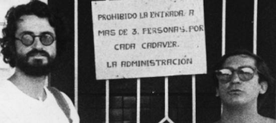 Luis Ospina y Carlos Mayolo.