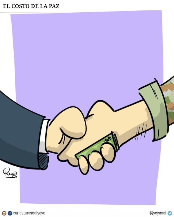 El costo de la paz