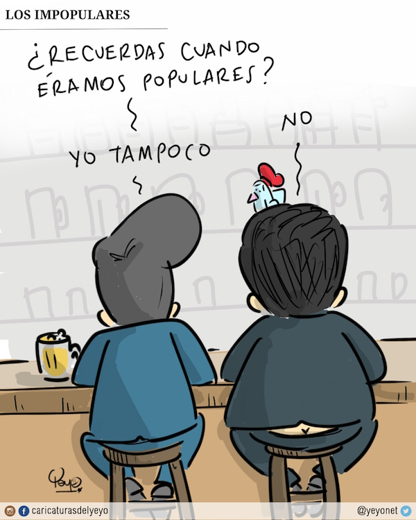 Los impopulares. ¿Recuerdas cuando éramos populares? -No dice Maduro- Yo tampoco, responde Juan Manuel
