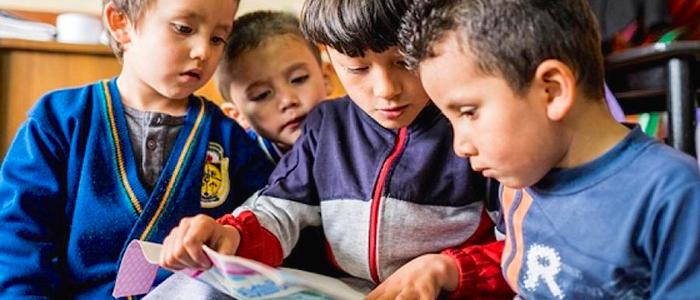 Crecimiento en la matrícula en la educación básica y media.