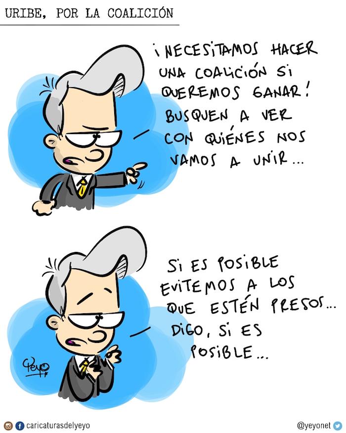 Uribe por la coalición