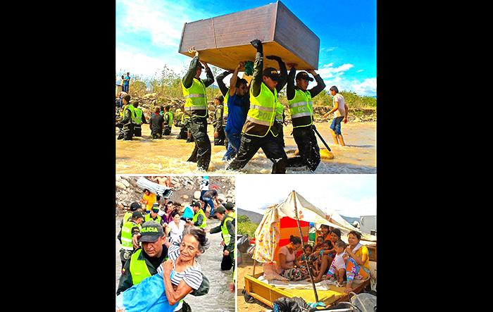 Crisis en la frontera con Venezuela.