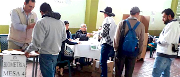 votaciones en Cajamarca