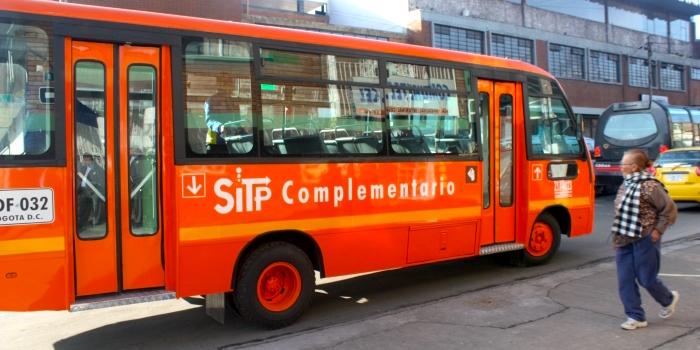 Sistema de buses complementarios del SITP.