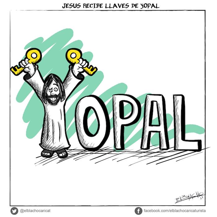 Jesús recibe las llaves de Yopal