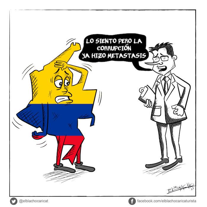 La corrupción hizo metástasis en Colombia