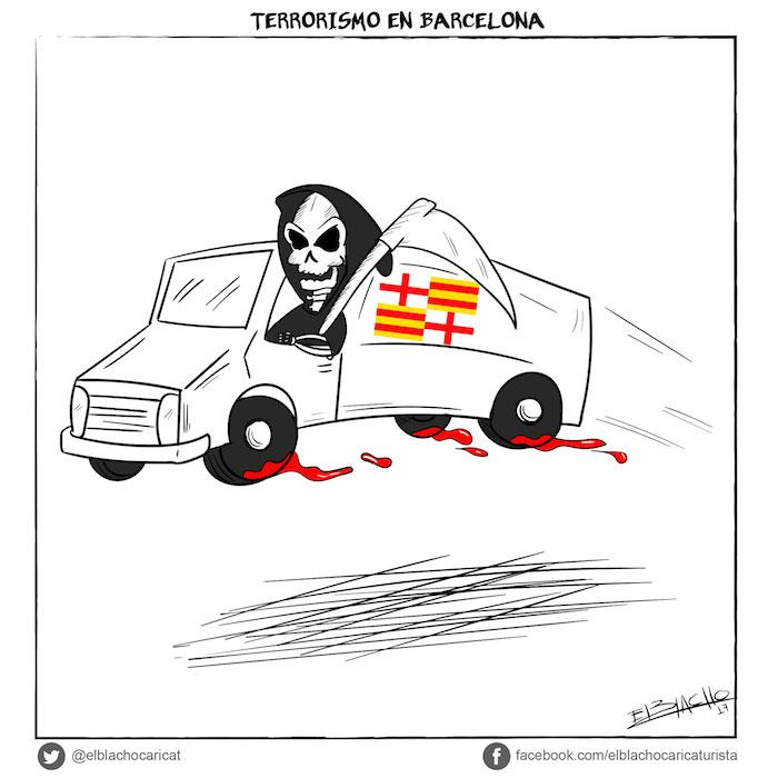 Terrorismo en Barcelona