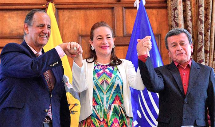 Desmovilización parcial de las Autodefensas Unidas de Colombias (AUC).