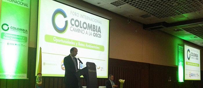 Conversaciones de la OCDE para adhesión de Colombia.