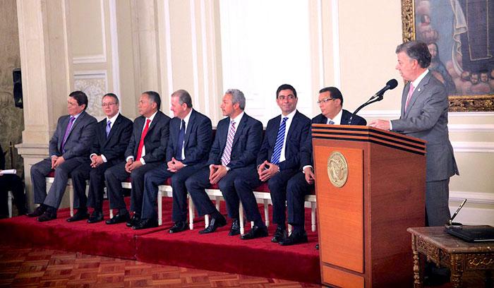 Magistrados de la Corte Suprema de Justicia.