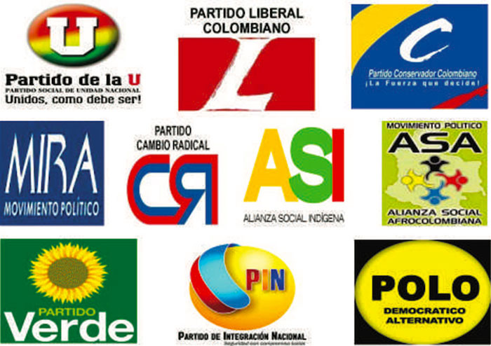 Partidos políticos.