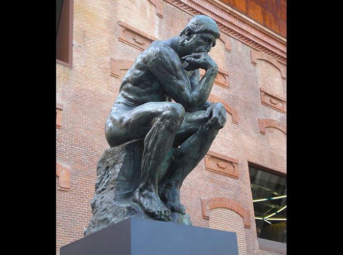 Estatua de El Pensador.