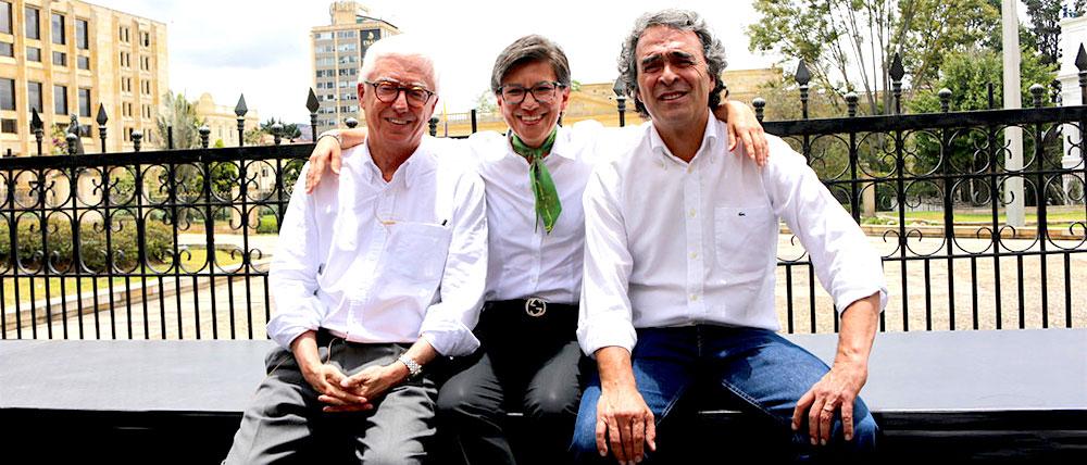 Coalición entre Robledo, Claudia López, y Sergio Fajardo