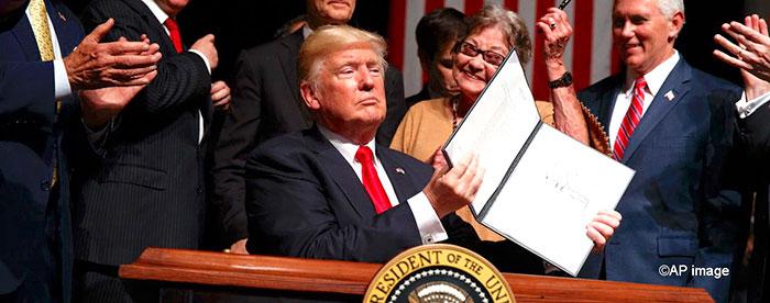 Medidas del presidente Trump sobre la política de Estados Unidos para Cuba.
