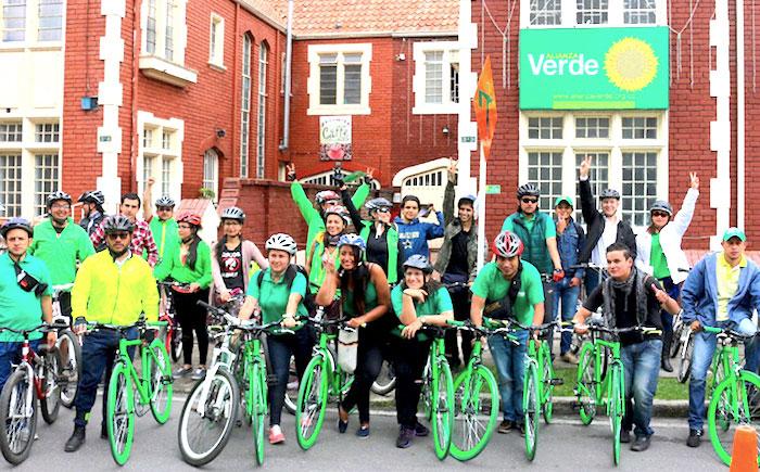 Campaña del Partido Verde.