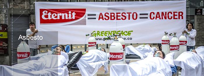Daños generados por el asbesto.