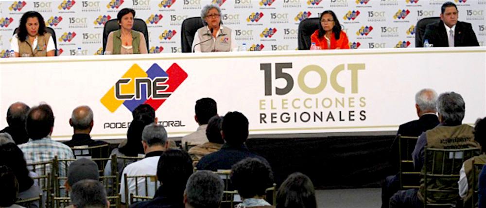 Elecciones regionales en Venezuela.