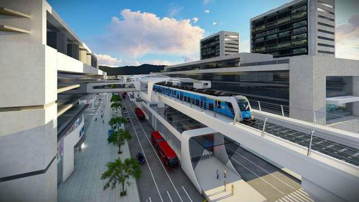 Planos del Metro de Bogotá.