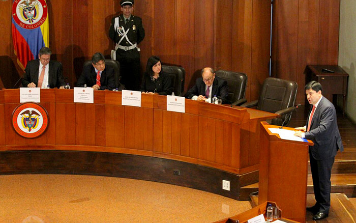 Diálogos frente a la implementación de la Jurisdicción Especial para la Paz, JEP.