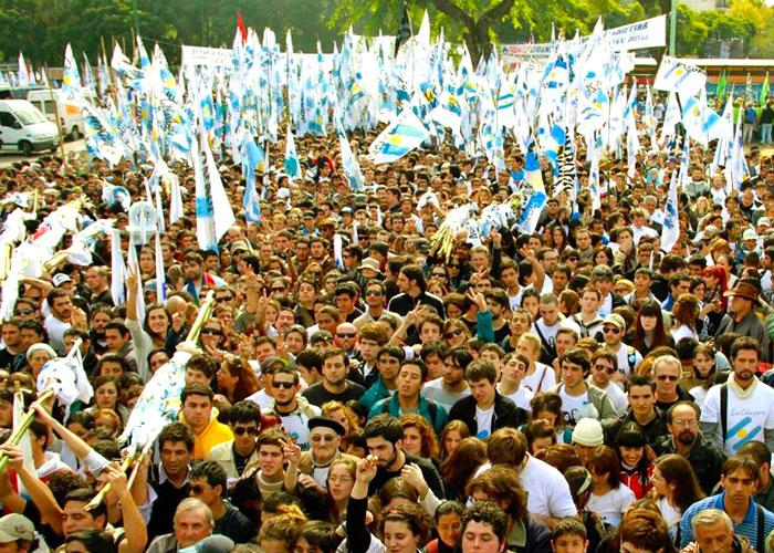 Manifestaciones Kirchneristas.