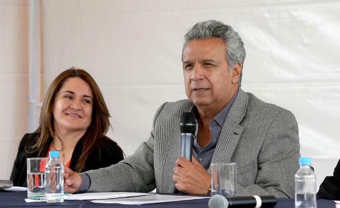 Actual Presidente del Ecuador, Lenín Moreno.