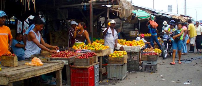 Mercado de Bazurto, Cartagena