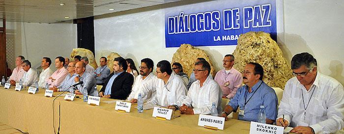 Diálogos en la Habana con los secretarios de las FARC