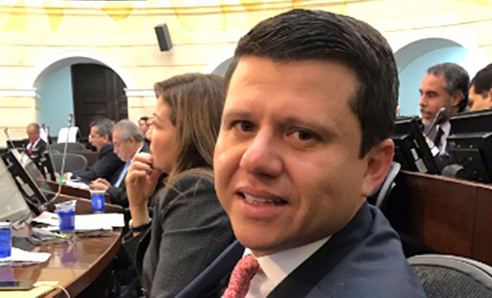 """Senador del partido de la U, Bernardo """"Ñoño"""" Elías, involucrado en caso Odebrecht."""