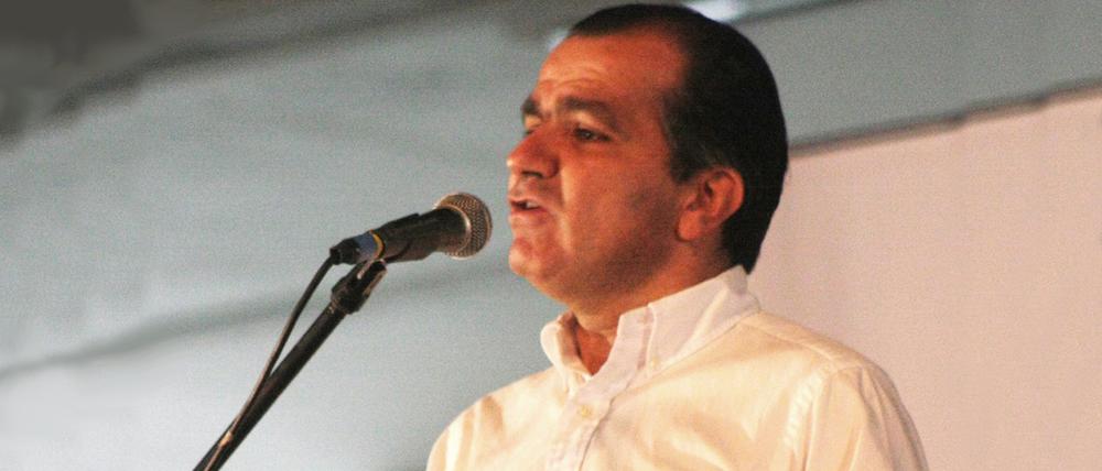 Óscar Iván Zuluaga, miembro del Centro Democrático