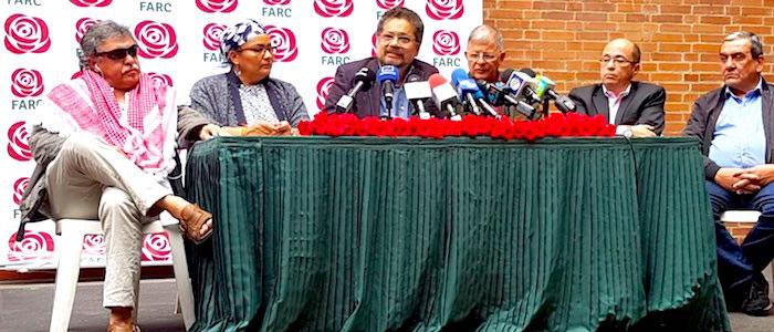 Congreso de las FARC en el que se convierten en un partido político