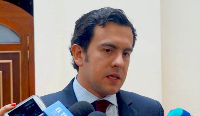 Presidente Cámara de Representantes, Rodrigo Lara Restrepo.