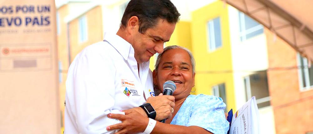 Candidato presidencial, Germán Vargas Lleras.