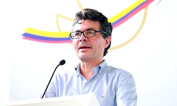 Ministro de Salud y Protección Social, Alejandro Gaviria.