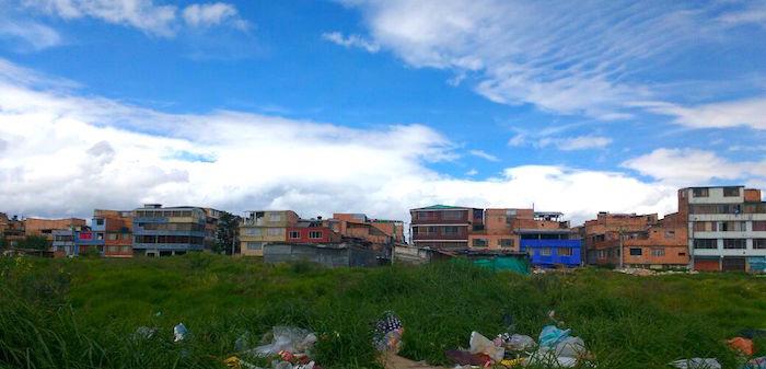 Pobreza en Bogotá.