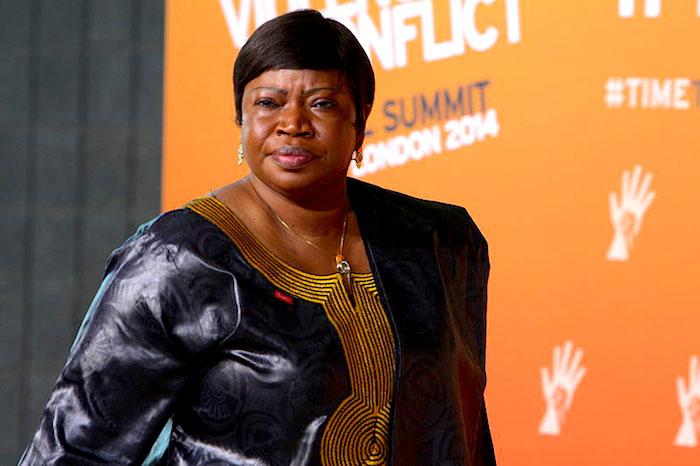 Fatou Bensouda, fiscal de la CPI.