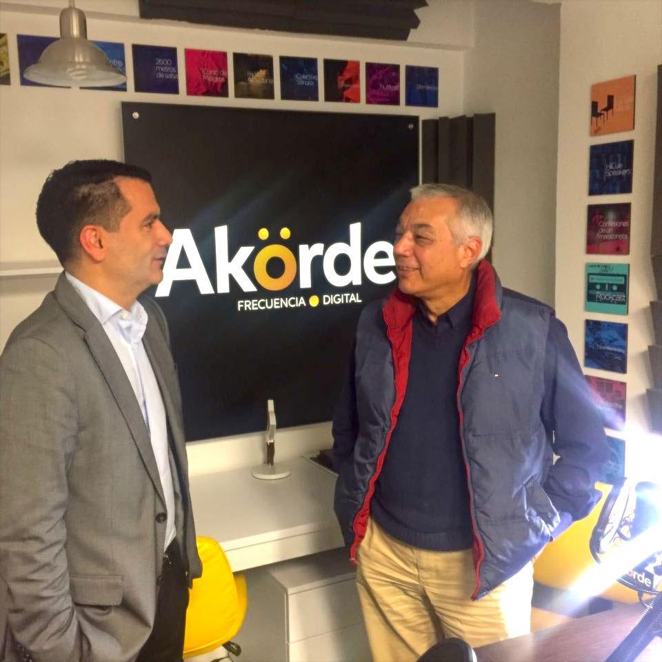 Con Didier Restrepo