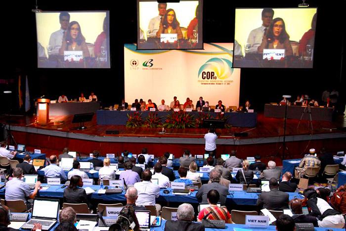 Conferencia de las partes del Convenio de Basilea.