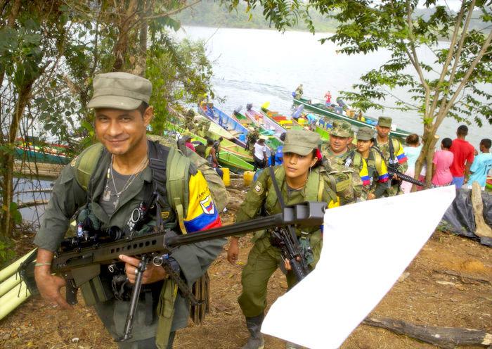 Exguerrilleros de las FARC-EP.