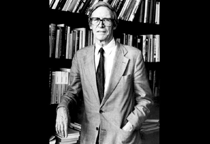 Filósofo estadounidense, John Rawls.