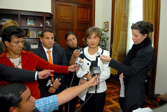Radicación del proyecto de Reforma a la Ley 30 en 2010.