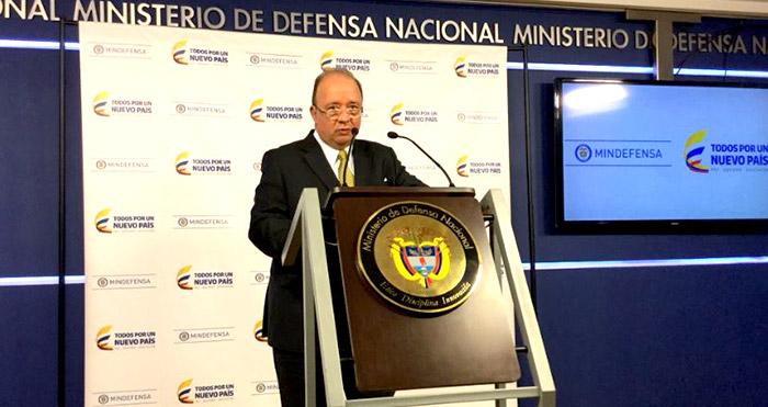 Ministro de Defensa, Luis Carlos Villegas, frente a los resultados dados por la DEA.
